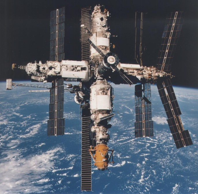 The mir space station, owned and operated by the Soviet Union and then Russia, experienced problems with biofilms for the 15 years it was in orbit