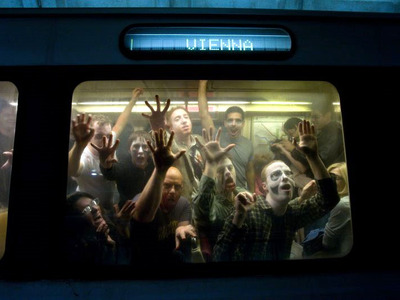 While zombie viruses may be a bit far-fetched, the possibility of a pathogen propagating through heavily-trafficked subway is not