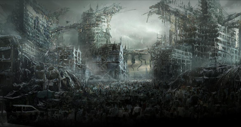 zombie-city-concept-art.jpg (1170×619) | Random Art | Pinterest ...